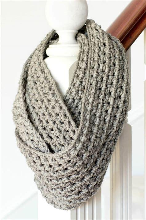 quick easy crochet scarf diy