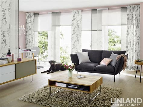 Fenster Vorhang Plissee by Fenster Botanic Gardinen Dekostoffe Vorhang Wohnstoffe