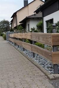 Welches Holz Für Gartenzaun : best 25 z une holz ideas on pinterest sichtschutzw nde ~ Lizthompson.info Haus und Dekorationen