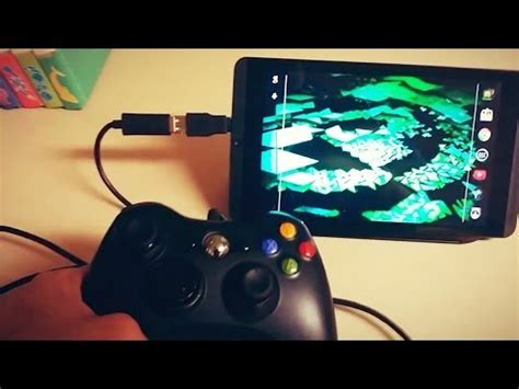 connect phone to xbox 360 connect xbox 360 controller to android phone tablet wired