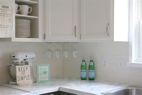 peel and stick kitchen tile faux shiplap backsplash with peel 39 n stick flooring