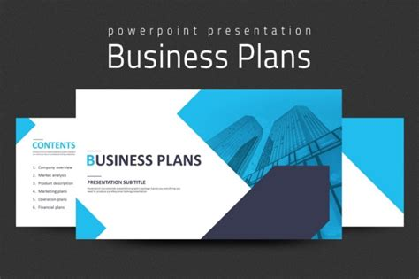 business plan powerpoint template   pptx format