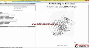 Cummins Electronic Control System  C8 3 Marine Engine Troubleshooting And Repair Manual