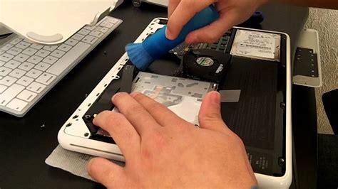 macbook pro fan not working macbook white mid 2010 fan cleaning youtube