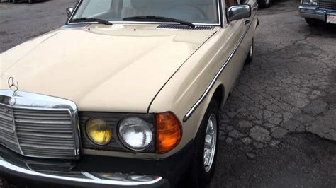 Favorite this post mar 8 1982 Mercedes-Benz 300D Turbo Diesel W123 - YouTube