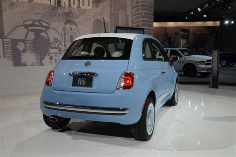 2018 Fiat 500 1957 Edition Picture 533522 Car Review