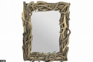 Miroir Bois Flotté : 20 pour ce miroir tendance bois flott soldes 21 objets d co et meubles saisir ~ Teatrodelosmanantiales.com Idées de Décoration