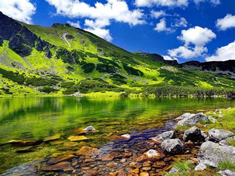 Tatras Mountains Carpathian Mountain Belt In Eastern ...
