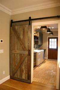 what size is that barn door and does it cover the casing With barn door casing