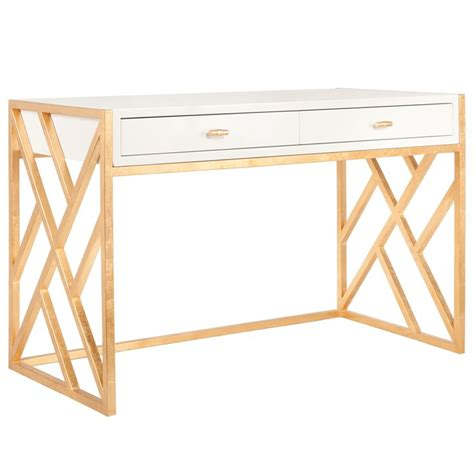 white desk with gold legs 72 best dresser study images on pinterest bedroom