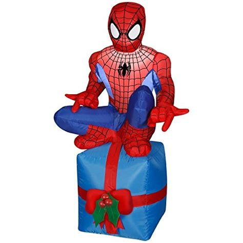 marvel comics  airblown inflatabe spiderman holiday