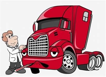 Mechanic Truck Diesel Clipart Repair Cartoon Webstockreview
