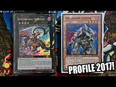deck profile yugioh 2016 yugioh best evilswarm deck profile expl