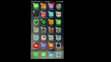 how to move apps delete apps create folders on an iphone