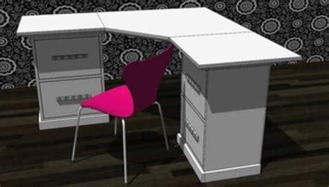 how to make a corner computer desk diy computer desk diy and crafts