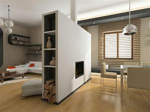 Holzbalken Als Raumteiler : 35 ideen f r raumteiler f r jede wohnsituation geschmack ~ Sanjose-hotels-ca.com Haus und Dekorationen