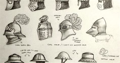 Various Design And Types Of Helmet For The Historically
