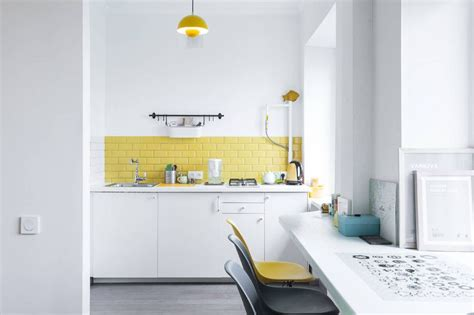 Yellow Subway Tile Kitchen Backsplash : The Fascinating Story Of Their Versatility