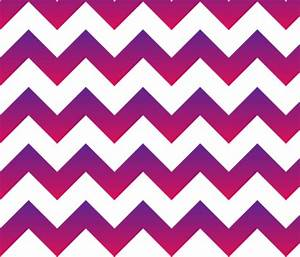 Purple to Pink Ombre Chevron fabric - gates_and_gables ...
