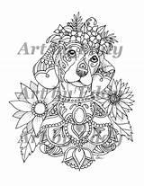 Tattoo Dachshund sketch template