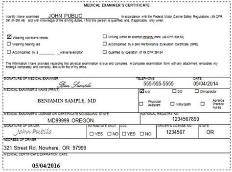 florida dmv cdl medical form cdl medical form medical form templates