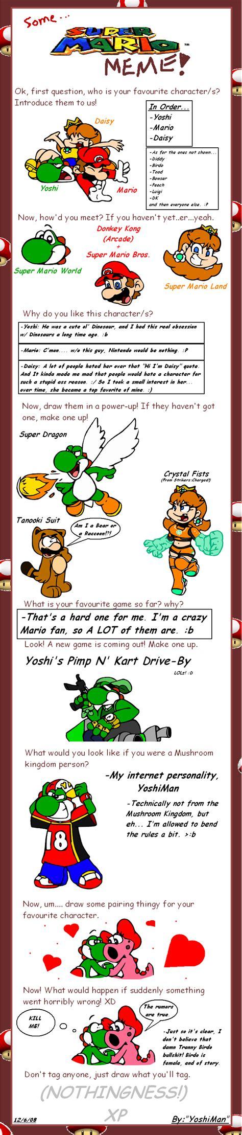 Super Mario Memes - super mario meme by yoshiman1118 on deviantart