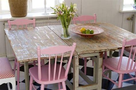 shabby chic kitchen table shabby chic pink kitchen panda s house