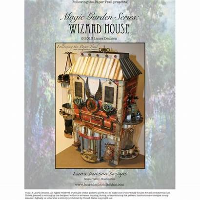 Paper Wizard Magic Garden Lauradenisondesigns Crafts Scrapbook