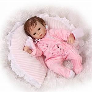 Aliexpresscom buy 42cm newborn baby dolls bebe reborn menina children best gift silicone for Best reborn baby dolls