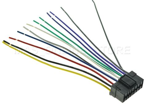 Jvc Car Stereo Kd R740bt Wiring Diagram by Wire Harness For Jvc Kd R200 Kdr200 Pay Today Ships Today