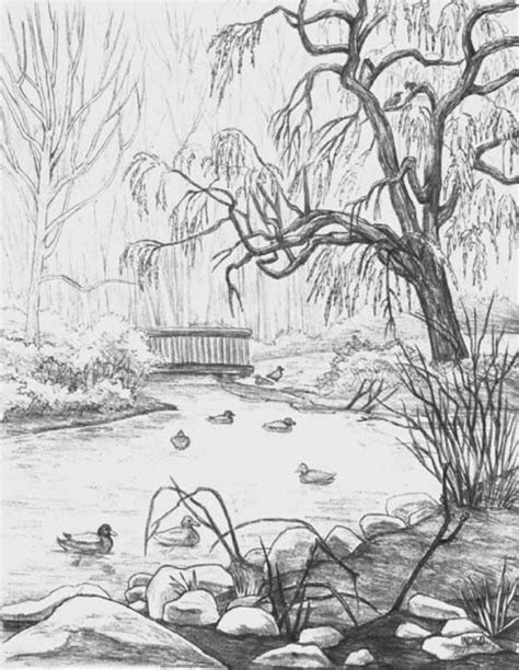 easy landscaping drawings easy landscape drawings landscape sketching for beginners lt images amp galleries draw