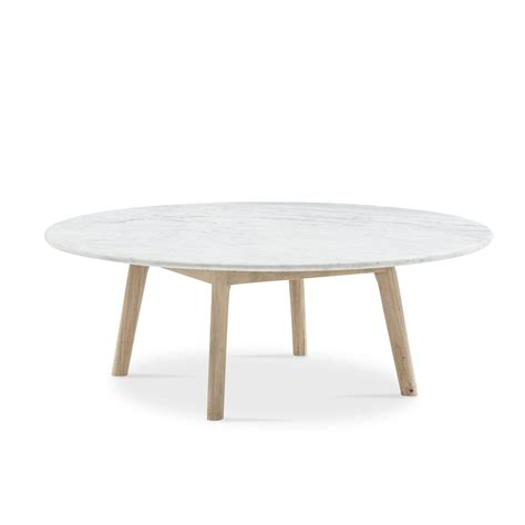 Solid marble top round coffee table lounge living room modern gold legs. Scandi Low Round Marble Coffee Table | T/J in 2019 | Table, Round coffee table, Furniture