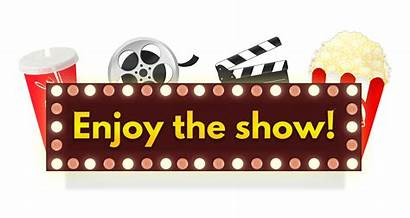 Clipart Film Enjoy Cinema Matinee Movies Transparent