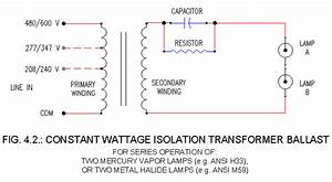 Hid Ballasts Schematics  Cw 1 And 2 Lamp Ballasts