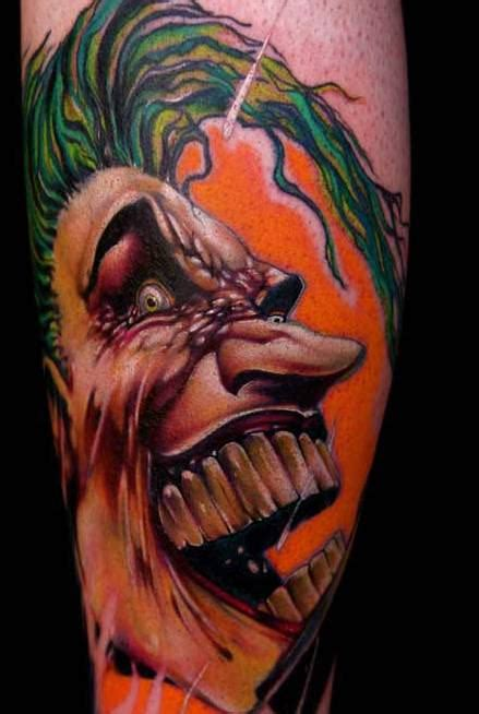 joker tattoo designs pictures images