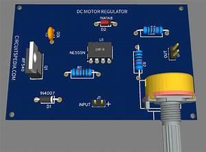 12v Dc Fan Motor Speed Controller Circuit Diagram  Dc Fan