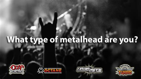 Quiz What Type Of Metalhead Are You?