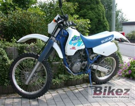 1991 Suzuki Dr350 by 1991 Suzuki Dr 350 S Specifications And Pictures