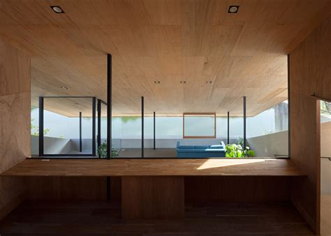 House Hibaru Fukuoka Suppose Design Office by House In Hiburu Follows A Reservoir S Bank To Provide