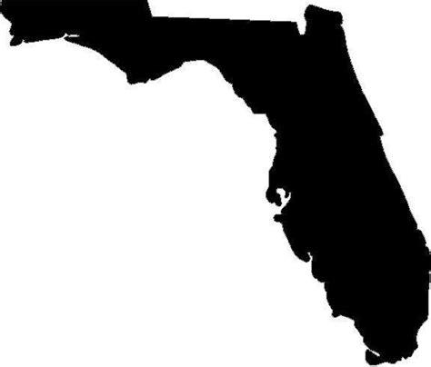 florida state vinyl decal sticker silhouette sand vacation ebay