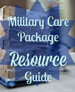 Military Care Package Resource Guide