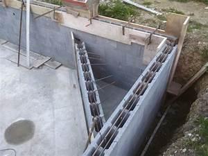 autoconstruction d39une piscine With maison en beton coule 6 le beton pour la maison parpaing bloc a bancher premur
