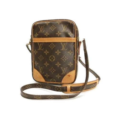 louis vuitton browns lv monogram danube cross body bag