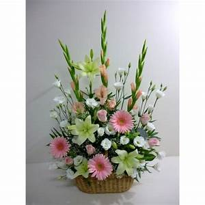Corbeille De Fleurs Pour Mariage : corbeille pastel aux mille et une fleurs ~ Teatrodelosmanantiales.com Idées de Décoration