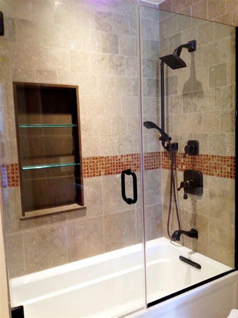 glass doors  bathtub homesfeed