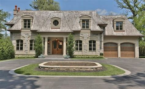 million french inspired mansion  oakville canada