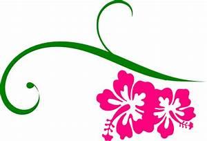 Neon Pink Hibiscus Flower Clip Art - ClipArt Best
