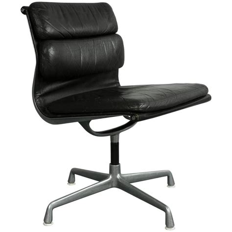eames l concept charles eames for herman miller brown leather soft pad