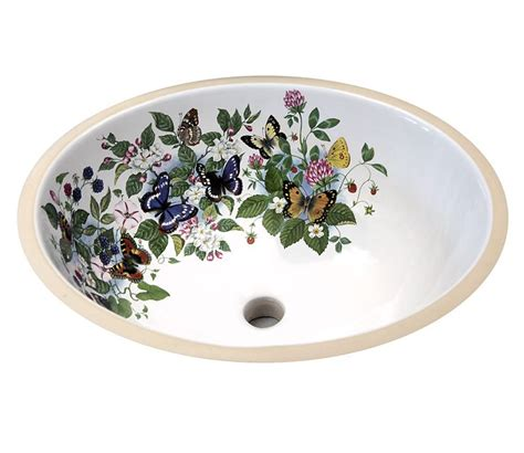 hand painted bathroom sinks 34 best floral hand painted sinks toilets images on