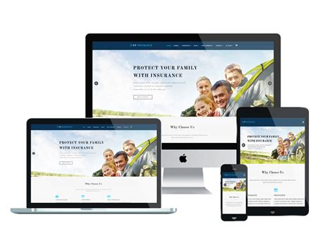 responsive template et insurance free responsive insurance joomla template